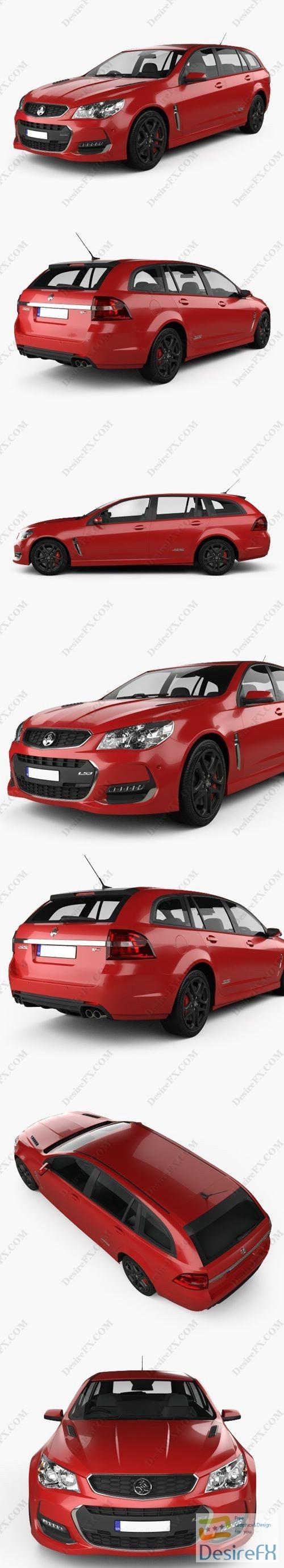 3d-models - Holden Commodore SS-V Redline Sportwagon 2015 3D Model