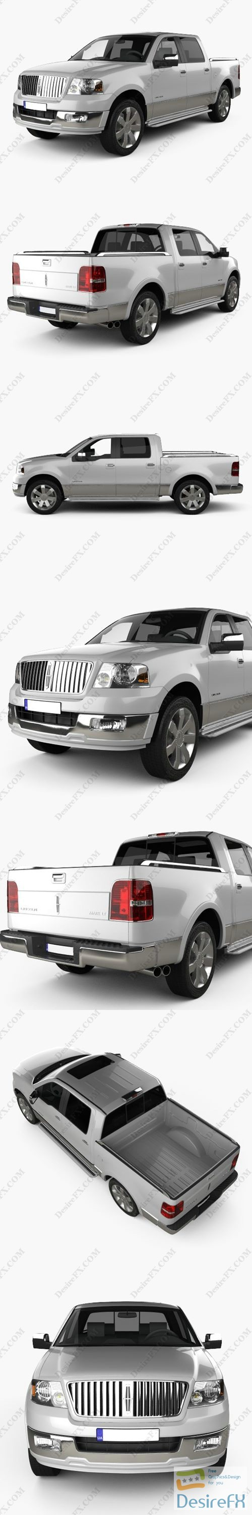Lincoln Mark LT 2005 3D Model