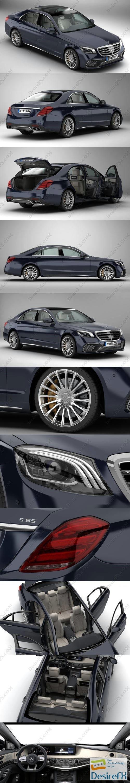 3d-models - Mercedes S Class AMG S65 2018 3D Model