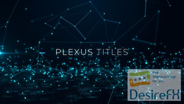 after-effects-projects - Videohive Plexus Titles 20054661