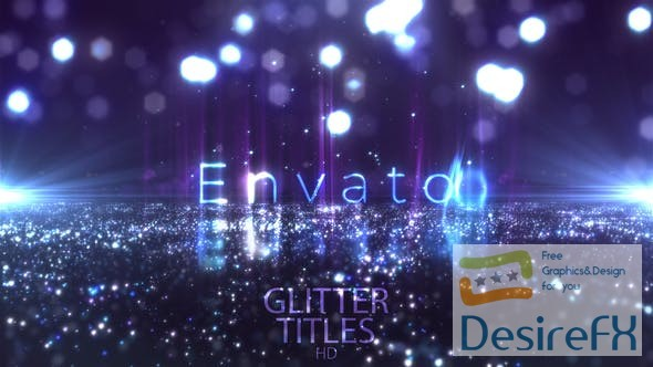 after-effects-projects - Videohive Glitter Fashion Titles 24113322