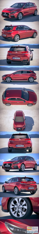 3d-models - Hyundai i30 N-line 2019 3D Model