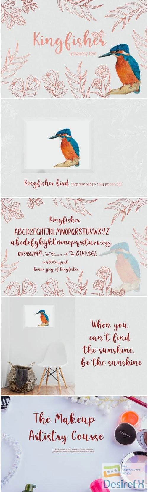 fonts - Kingfisher Font