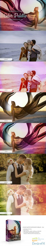 Color Palette Photoshop Overlays - 3889321