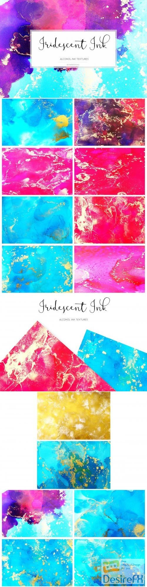 stock-images - Iridescent Ink Textures 3986765