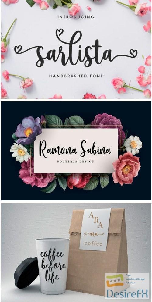 fonts - Sarlista Font