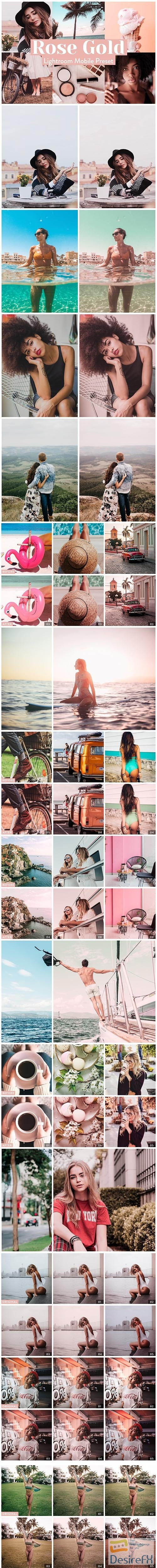 photoshop - Rose Gold Lightroom Presets Mobile 3972243