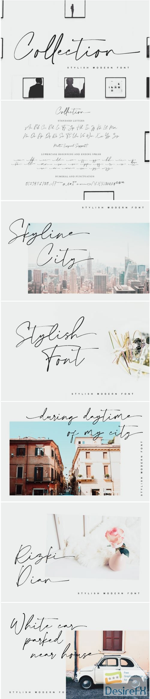 fonts - Collection Font