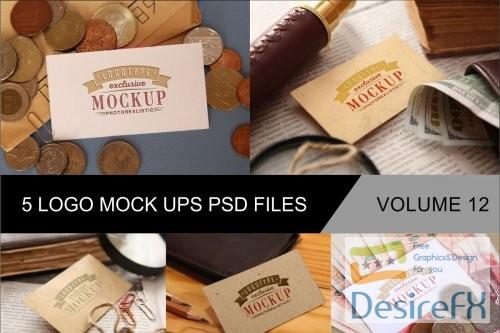 mock-up - Photo Realistic Mock-ups Set of 5 V12 - 4043551