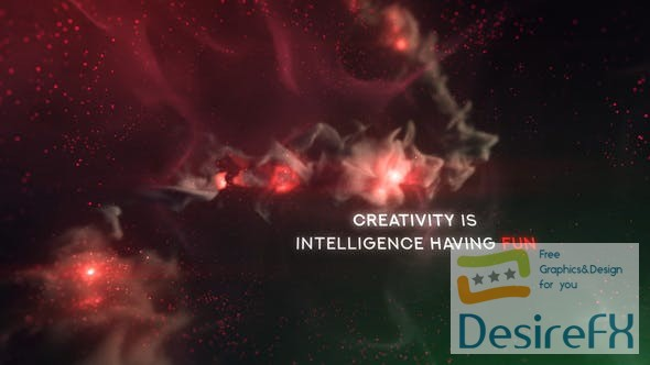 VideoHive Colorful Galaxy Titles 24281845