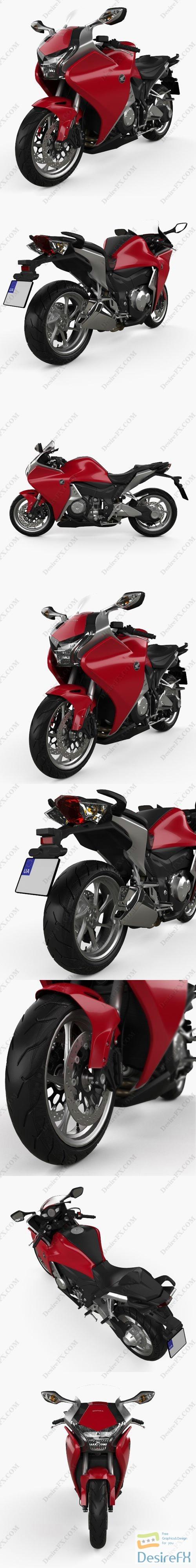 3d-models - Honda VFR 1200 F 2015 3D Model