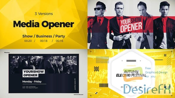 after-effects-projects - Videohive Media Opener 22838540