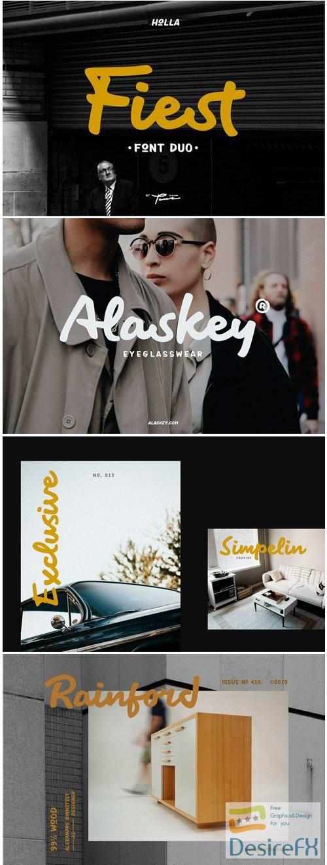 fonts - Fiest Font Duo