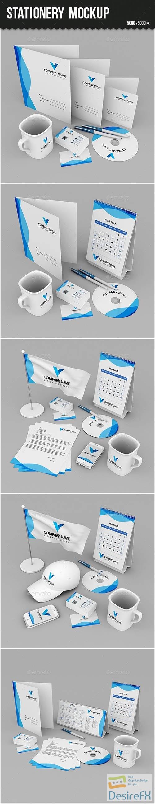 mock-up - Stationery Branding Mock-up 24262252
