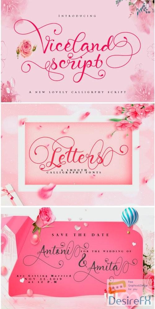fonts - Viceland Font