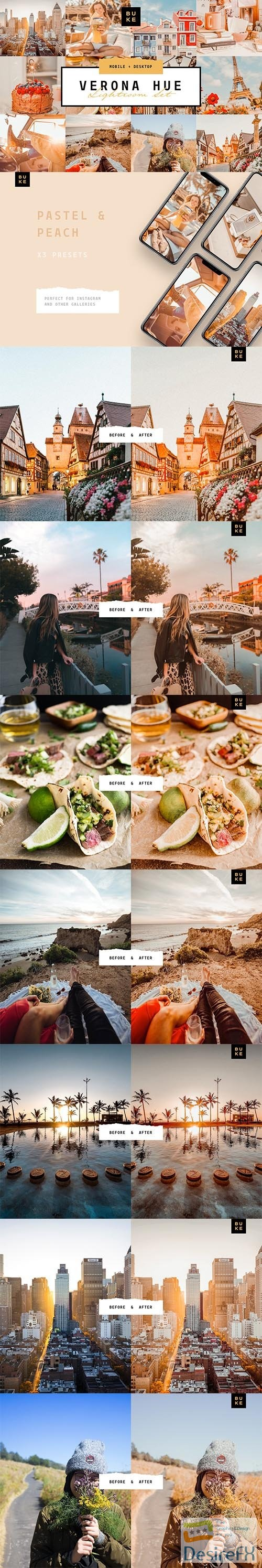 photoshop - Verona Hue Lightroom Preset Bundle 3917009