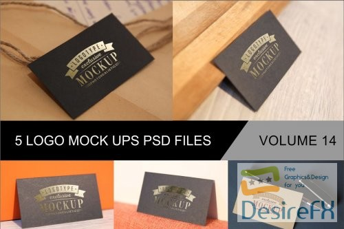mock-up - Photo Realistic Mock-ups Set of 5 V14 - 4044439