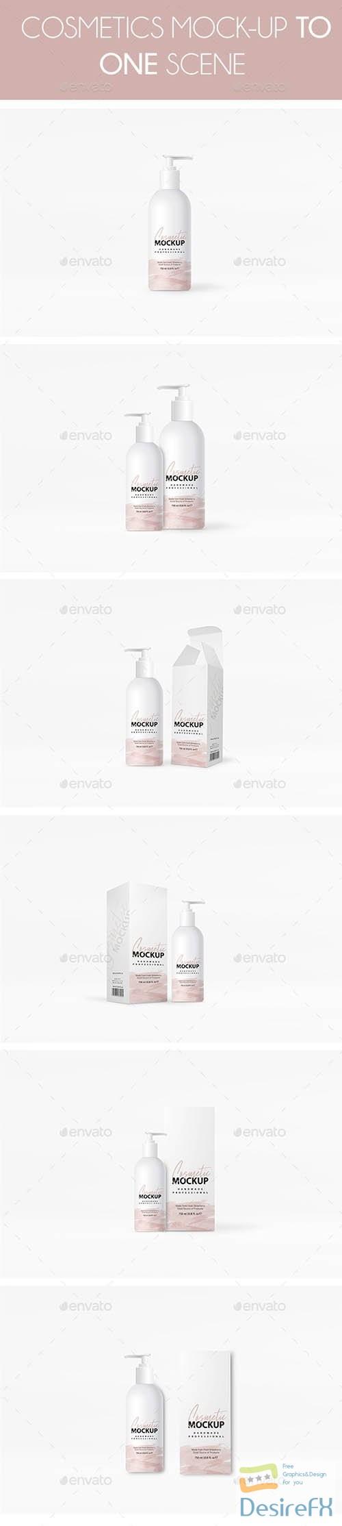 mock-up - Cosmetics Mockup 24268324