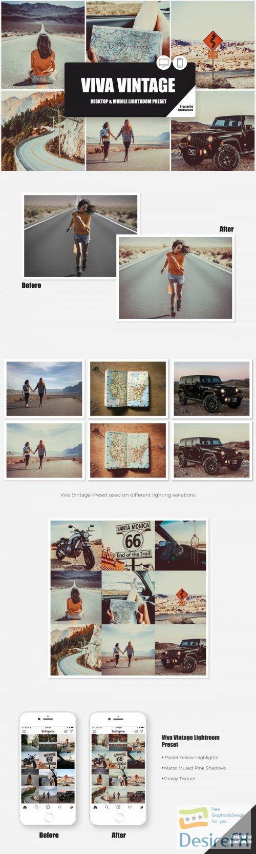 photoshop - Viva Vintage Lightroom Preset 3977625