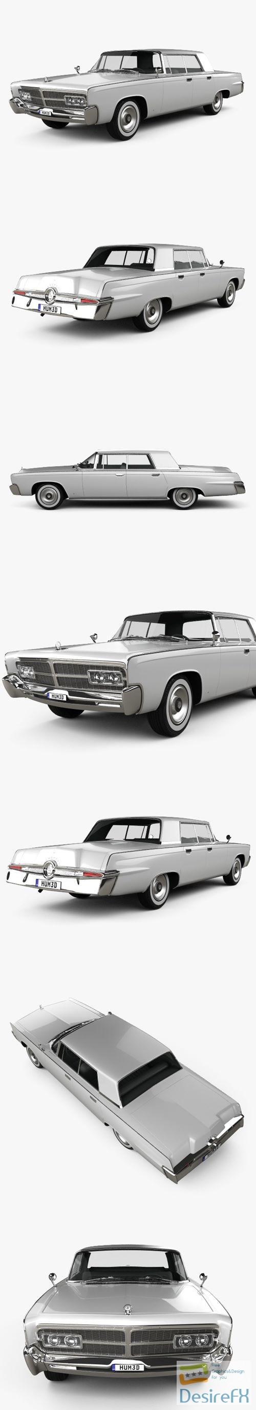 Chrysler Imperial Crown 1965 3D Model