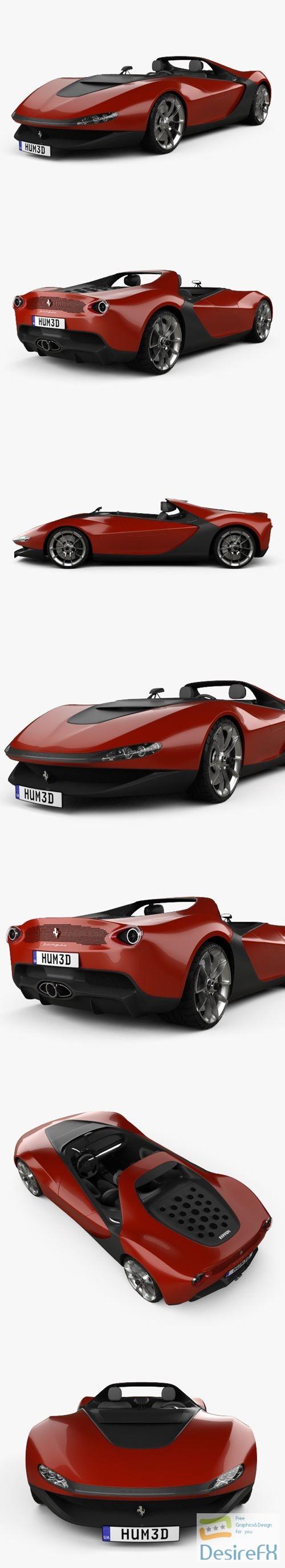 3d-models - Ferrari Pininfarina Sergio 2013 3D Model