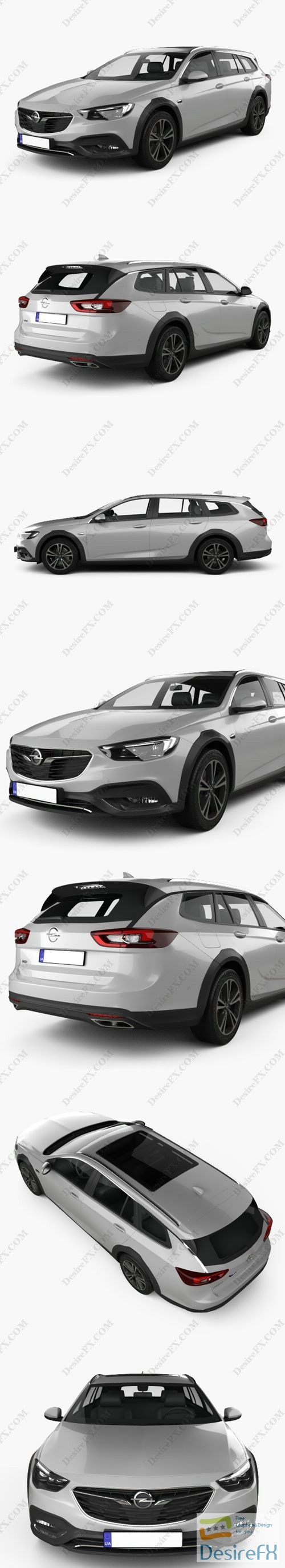 3d-models - Opel Insignia Country Tourer 2017 3D Model