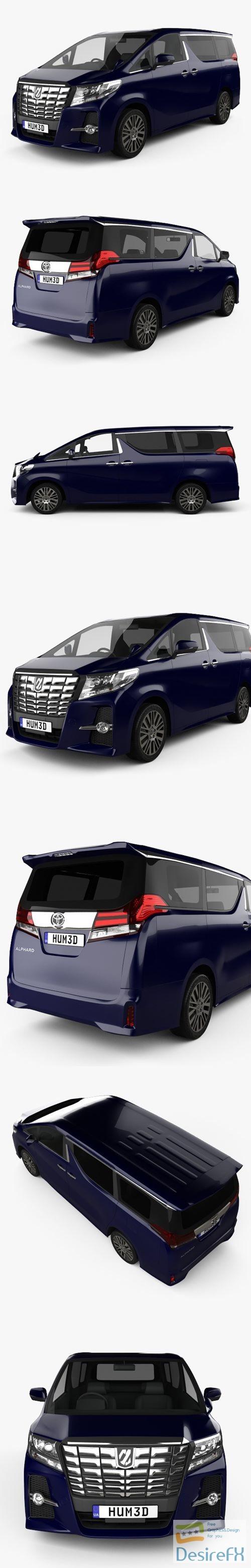 3d-models - Toyota Alphard 2015 3D Model