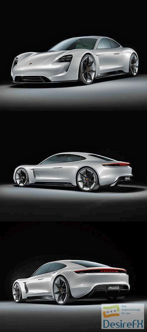3d-models - Porsche Mission E Concept 3D Model
