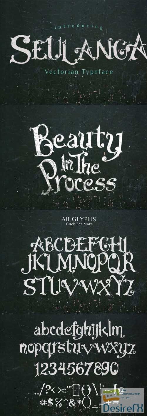 Seulanga Decorative Font