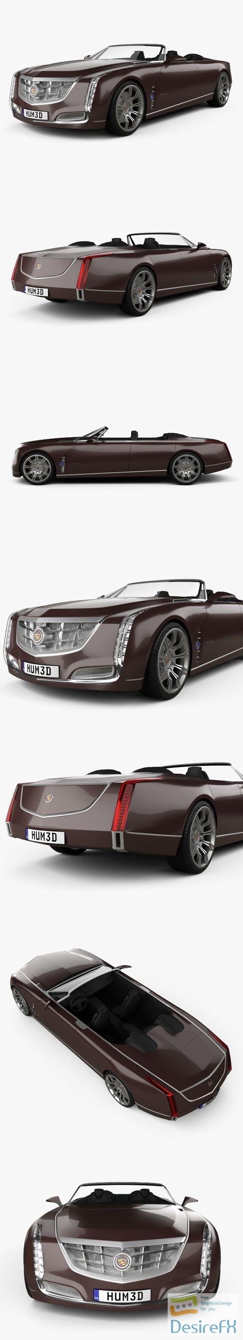 3d-models - Cadillac Ciel 2011 3D Model
