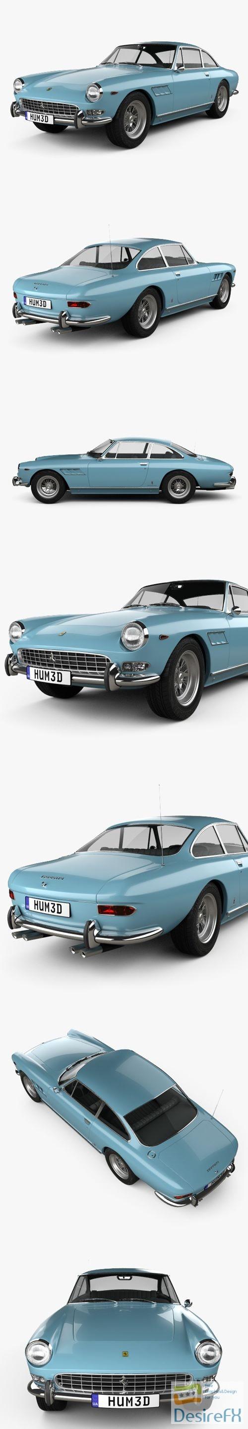 3d-models - Ferrari 330 GT 2+2 1965 3D Model