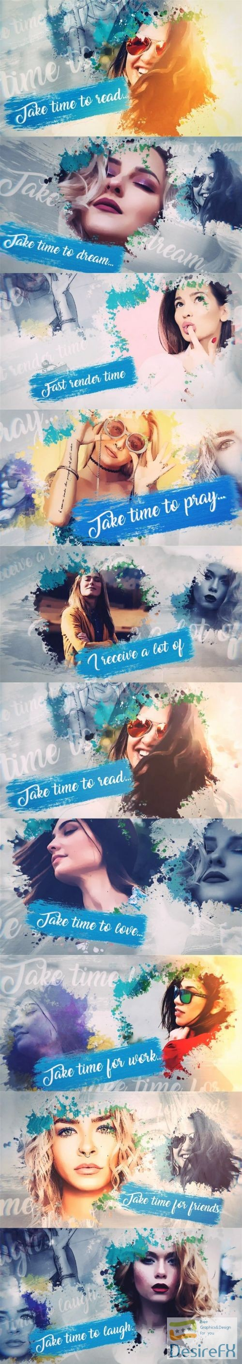 after-effects-projects - Videohive Water Color Promo 24780150