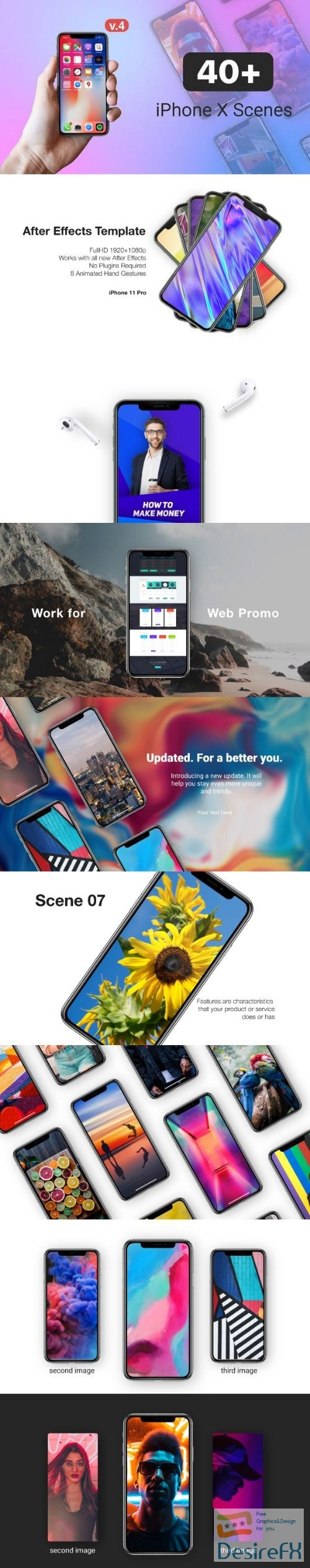 after-effects-projects - Videohive Phone X - 11 Pro // App Promo Kit 20716659