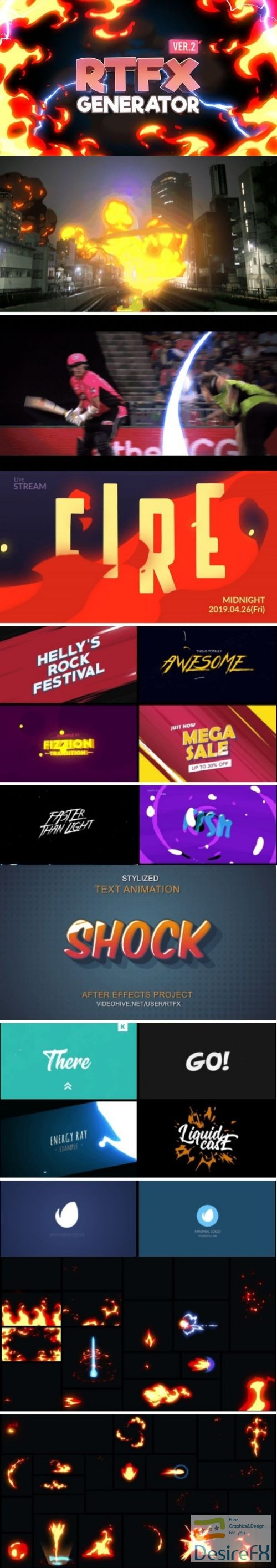 after-effects-projects - Videohive RTFX Generator [1000 FX elements] 19563523 V.2