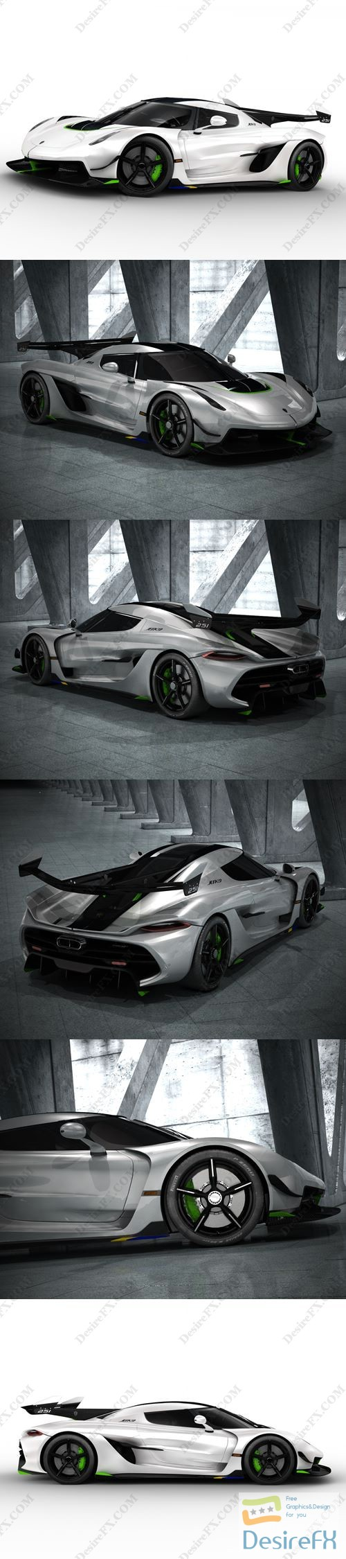 3d-models - Koenigsegg Jesko 2020 3D Model