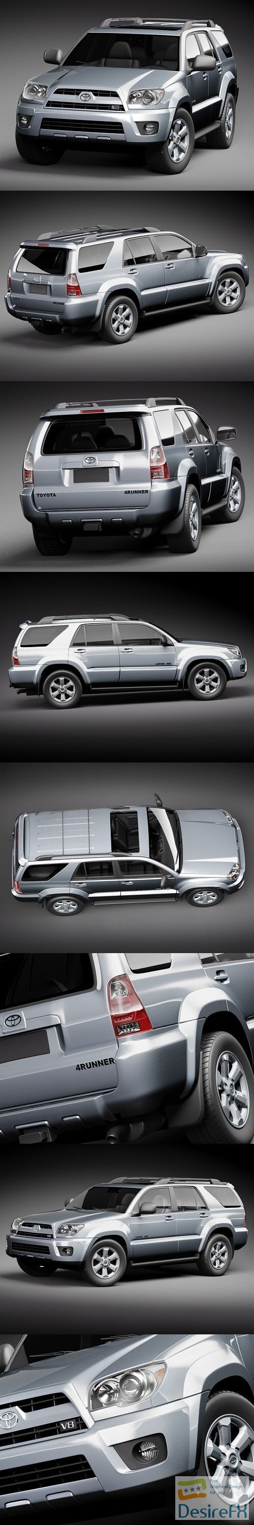 3d-models - Toyota 4runner 2009 3D Model