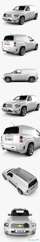 3d-models - Chevrolet HHR Panel Van 2011 3D Model