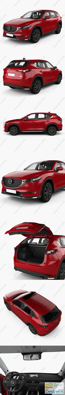 3d-models - Mazda CX-5 with HQ interior 2017 3D Model