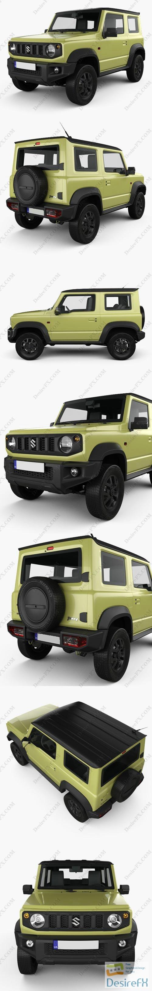 3d-models - Suzuki Jimny Sierra 2019 3D Model