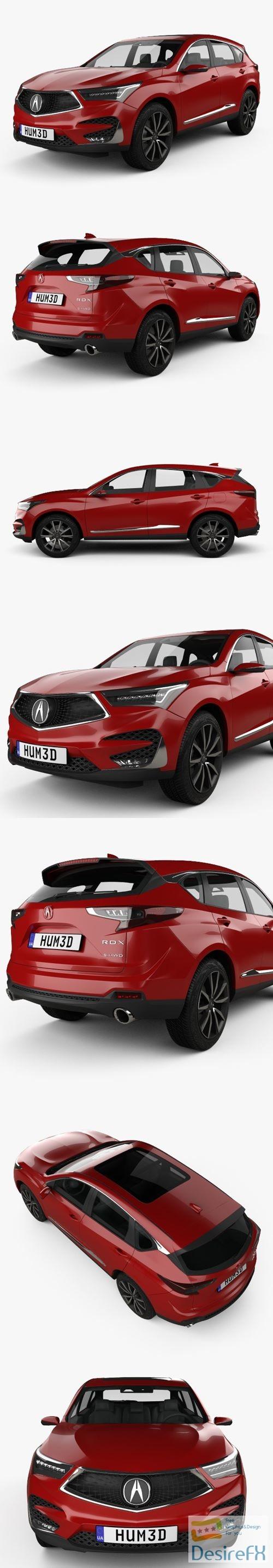 3d-models - Acura RDX Prototype 2018 3D Model