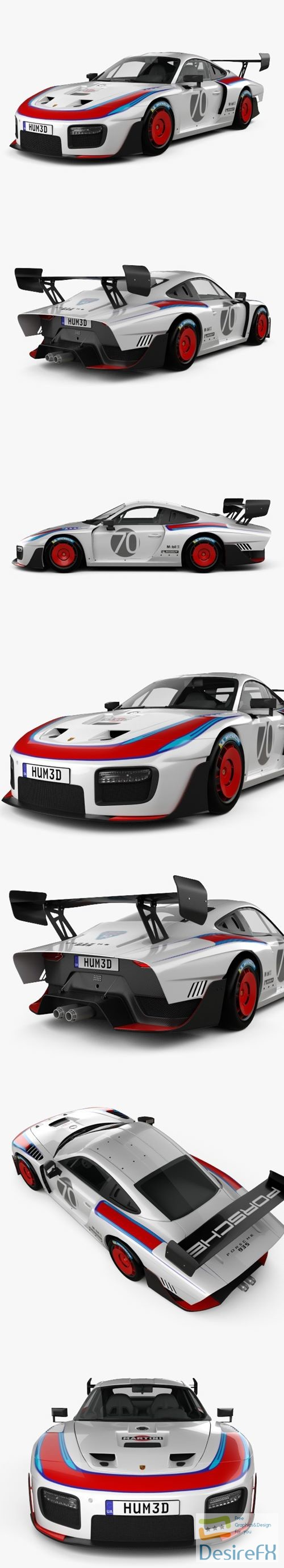 3d-models - Porsche 935 2019 3D Model