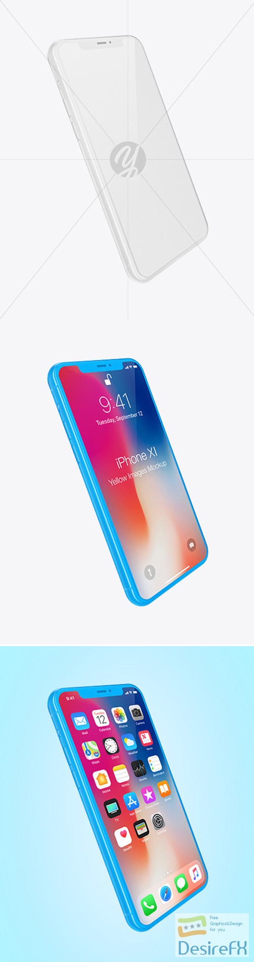 mock-up - Clay Apple Iphone 11 Pro Mockup 52103 TIF