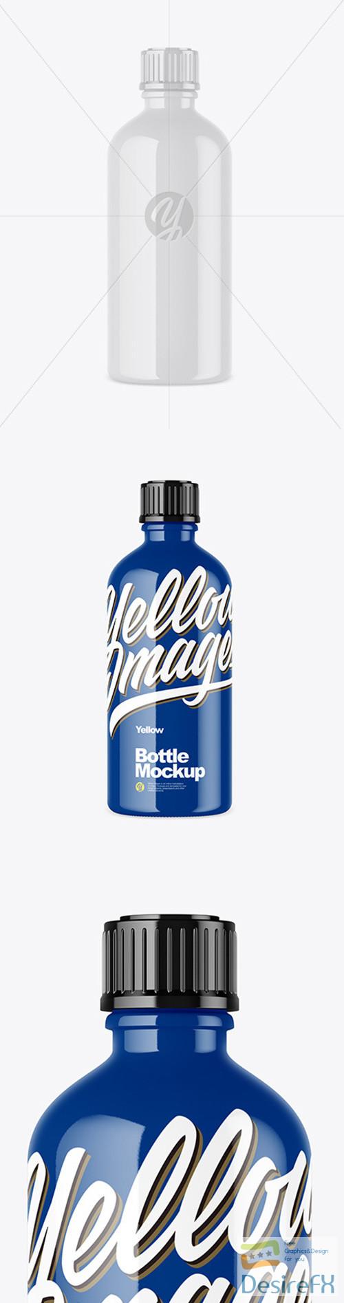 mock-up - Glossy Bottle Mockup 52106 TIF