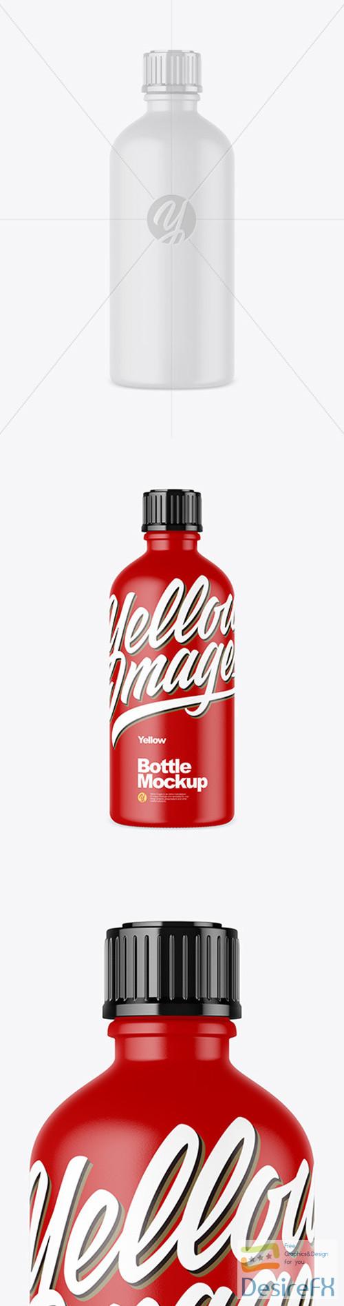 mock-up - Matte Bottle Mockup 52113 TIF