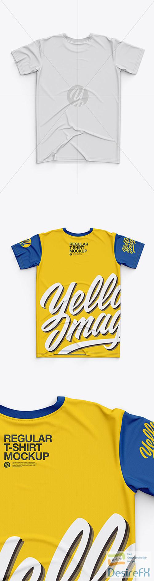 t-shirts-prints - Mens Classic Regular T-Shirt Back Side - Top View 30429 TIF
