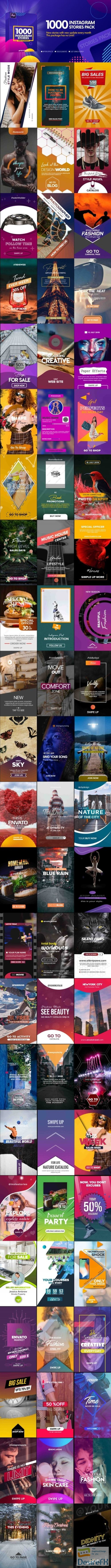 after-effects-projects - Videohive Instagram Stories V2 23458472