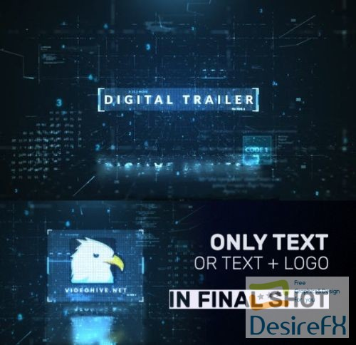Videohive Digital Trailer 22972491