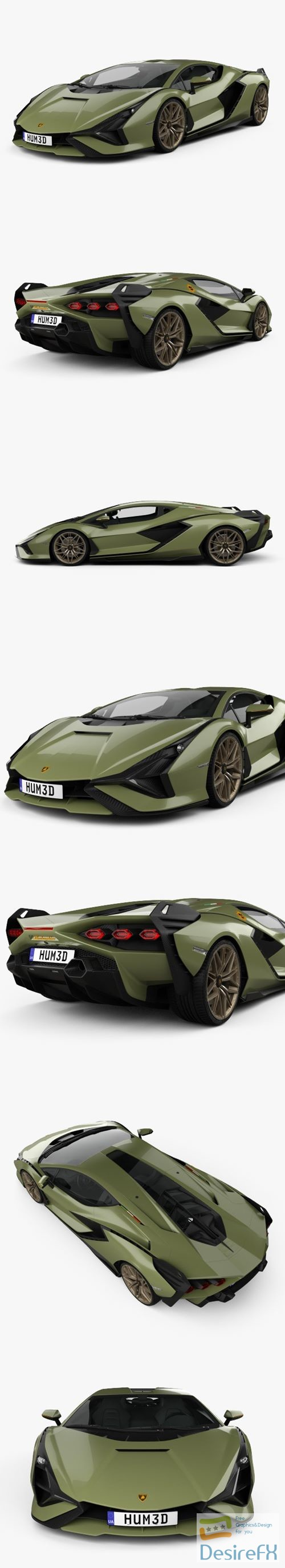 3d-models - Lamborghini Sian 2020 3D Model