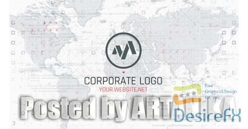 after-effects-projects - Corporate Map Logo 25517368