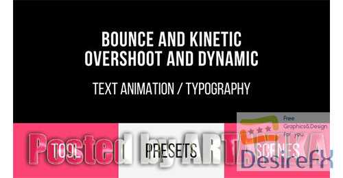 after-effects-projects - Bounce & Dynamic Text Animations 19691145